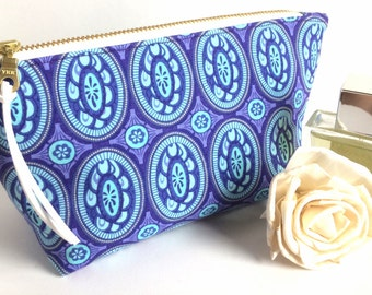 Lipstick Holder - Cosmetic Bag - Lipstick Pouch - Small Makeup Bag - Makeup pouch- Gift for Her - Zipper Pouch - Best Friend Gift