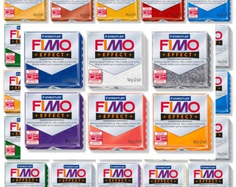 37 Fimo effect Colours Polymer Clay sculpey best polymer clay soft