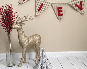 Fabric Christmas Tree - Christmas Decor - Christmas Tree Decor - Stuffed Christmas Tree - Plush - Christmas Decorations - Winter Decor -