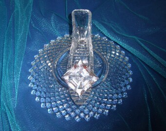 Royal Princess Cinderella Glass Slipper with Oleg Cassini Crystal & Glass Pillow, Wedding Shower Reception Table Centerpiece Decor