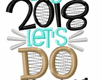 Alright 2018 Let's do this Thing  -New Years -New Years Celebration -New Years Vibe -Holiday -New Years Resolution -Welcome 2018 -King 2018