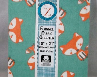 Woodsie Pal Cotton Flannel Fat Quarter - #126 - Land of Whimzie