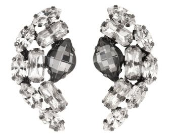 "Tova ""Odessa"" swarovski crystal mohalk earrings"