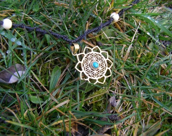 Flower of Light pendant