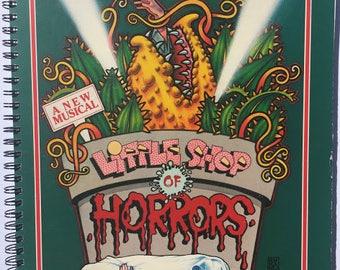 for the Little Shop of Horrors  Original off Broadway Cast vinyl fans! Album Cover Notebook vintage!!!