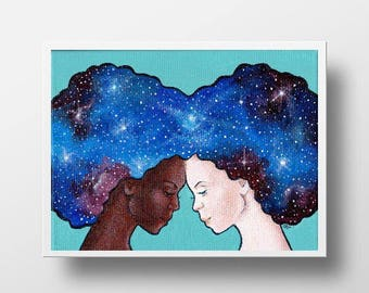 Let's Put Our Heads Together print