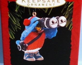 1993 Bird Watcher Hallmark Retired Ornament