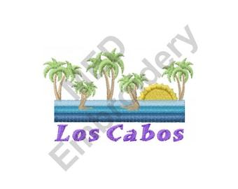 Los Cabos - Machine Embroidery Design