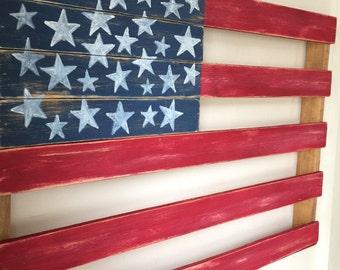 American Flag - Rustic Home Decor