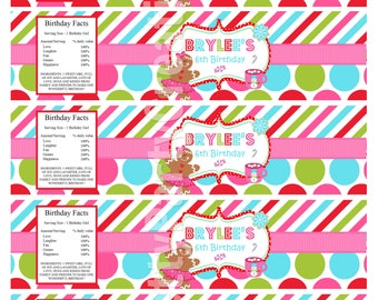 COOKIE DECORATING water labels - YOU Print