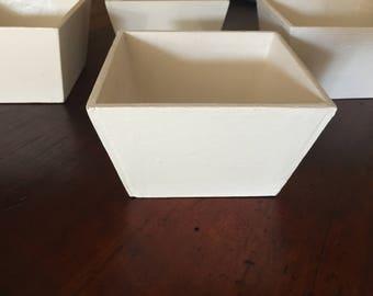 Four Flower Pots