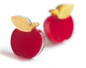 Apple Earrings.