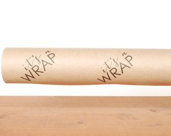 gift wrapping paper: kraft gift wrap, brown wrapping paper, it's a wrap