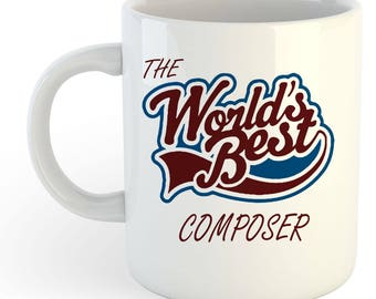 The Worlds Best Composer Mug