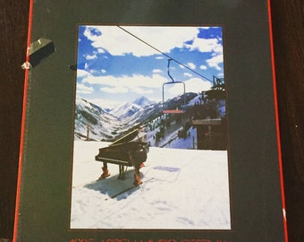 1985 Aspen Music Festival Poster in original mounting, SEALED