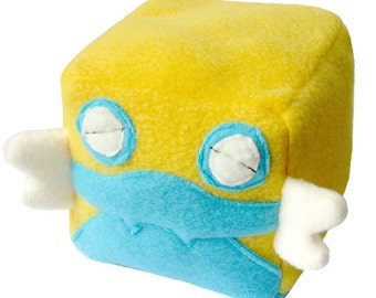 JULY PREORDER Pokemon dunsparce cube plushie stuffed animal toy cute decor nintendo geeky nerdy video game square anime character doll