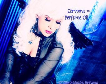 CORVINNA™ Perfume Oil - Black Cherries, Jasmine, Lavender, Sandalwood, Oak Wood, Apple, Spiced Tea - Realms of the Fae Folk™ Perfume Series