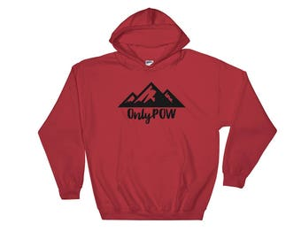 OnlyPOW snowboard Hooded Sweatshirt
