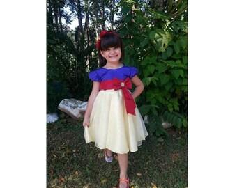 SNOW WHITE dress Snow White costume for girls princess Snow White dress