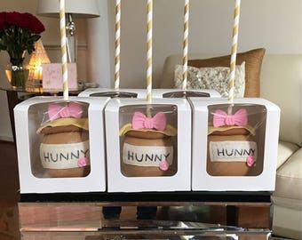 Bumble Bee Themed Chocolate Covered Apples