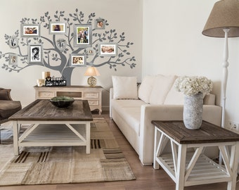 """Wall Decal - Family Tree Wall Decal -  Tree decal - Large: approx 90""""H x 100""""W A0030"""