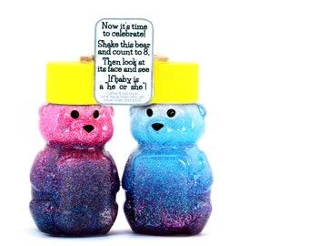 Mini Gender Reveal Bear - Gender Reveal Ideas - Gender Reveal Party - Baby Gender Reveal - Color Reveal Bear