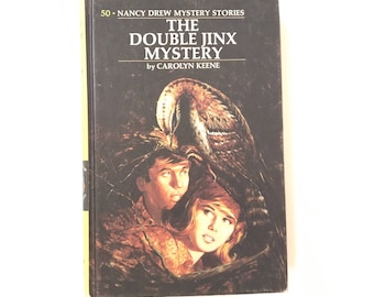 Vintage Nancy Drew 1973 Mystery Book The Dpuble Jink Mystery by Carolyn Keene #50 Vintage Book Detective Stories Vintage Mystery Book