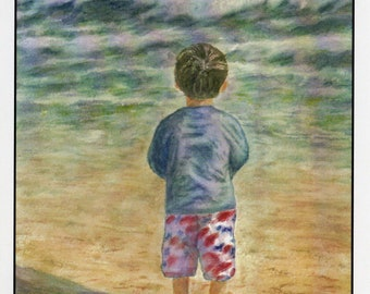At The Beach 5x7 Cards (8 cards)