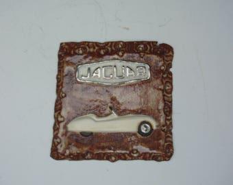 Jaguar Cars ceramic wall tiles