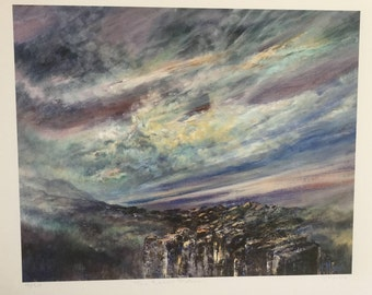 The Basalt Pathway by Diana Mackie (Fine Art Ltd Edn Print)