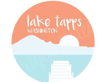 Lake Tapps City Tote