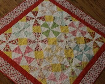 Colorful Patchwork Quilt for Girl