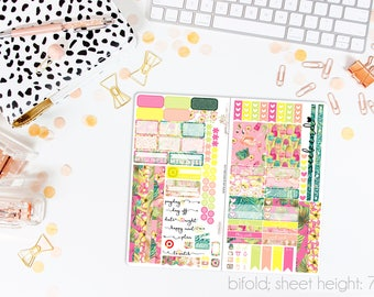 Paradise TN STANDARD Weekly Kit // 120+ Matte Planner Stickers // Perfect for your Standard Size Traveler's Notebook // TNS0730