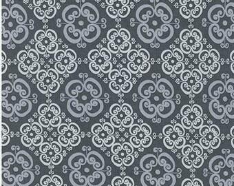 Mystic Graphite Cotton Fabric - Robert Kaufman Fabrics