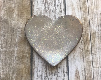 Holographic glitter Clay Trinket Ring Dish