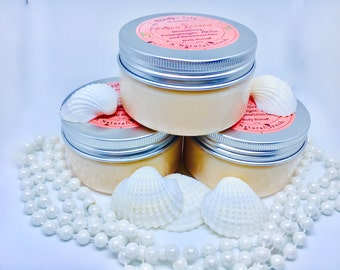 INTRODUCTORY PRICE!!!, Strawberry Pomegranate, Whipped Shea Butter, Body Butter, Vitamin E, Almond Oil, Moisturizer,Mango Body Butter