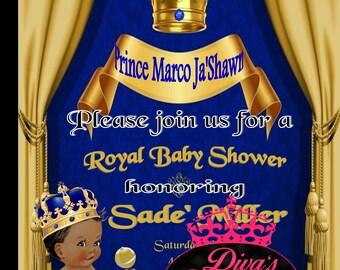 Royal Baby Boy Shower Invitation