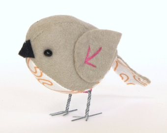 The Fat Sparrow PDF Pattern and Instructions --INSTANT DOWNLOAD--