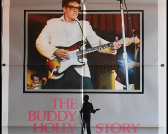 The Buddy Holly Story - 1978 - – Original US one sheet movie poster
