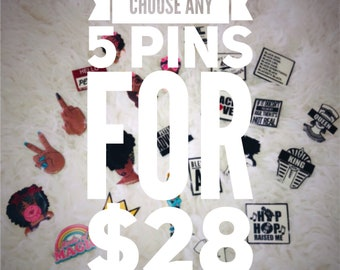 5 Pin Special!