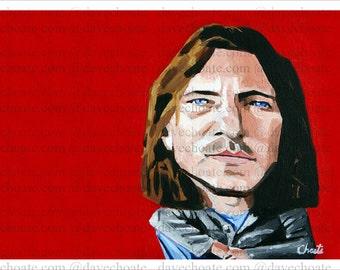 Eddie Vedder Art Photo Print