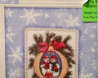 Gifts In The Snow Dimensions Gold Nuggets counted cross stitch, by Kathryn White