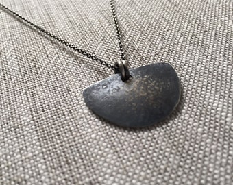 Warrior Sterling Silver Necklace for Protection and Courage