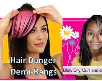 Temporary Hair Bangs