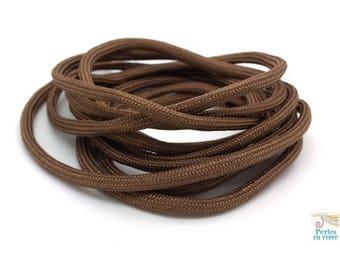 2 m thread paracord (fil136) Brown parachute cord