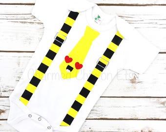 Emoji Bodysuit/Emoji Romper/Emoji Baby Shirt/Emoji Shirt/Emoji Tie Shirt/Emoji Suspender Shirt/Baby Emoji/