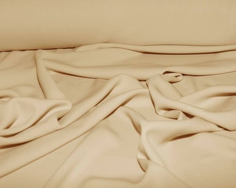 """Stretch Crepe Jersey Putty   1 yard 58"""" wide dresses, suits, pants jackets"""