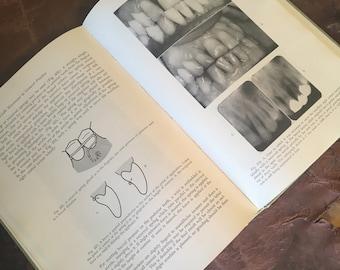 60's Medical Book / Vintage Dental Manual / Old Dentistry Book