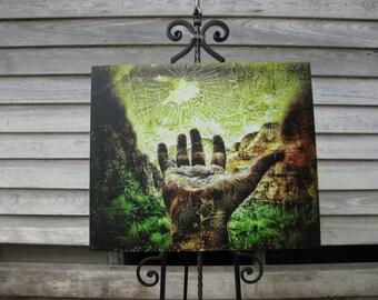 Atteignant pour Zion (Weeping Rock) - signée