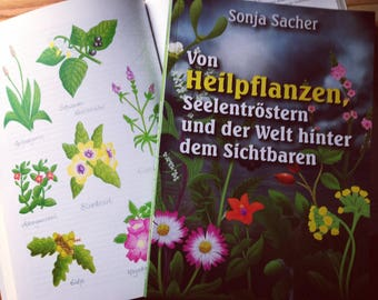 "Book ""of Medicinal plants, souls comforters and the world behind the visible""/medicinal plants/herbalists/herbs/Herbal Magic"